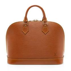 Louis Vuitton Vintage Epi Leather Alma PM Satchel (SHF-11846)
