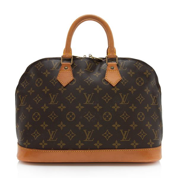 Louis Vuitton Vintage Monogram Canvas Alma PM Satchel (SHF-11755)