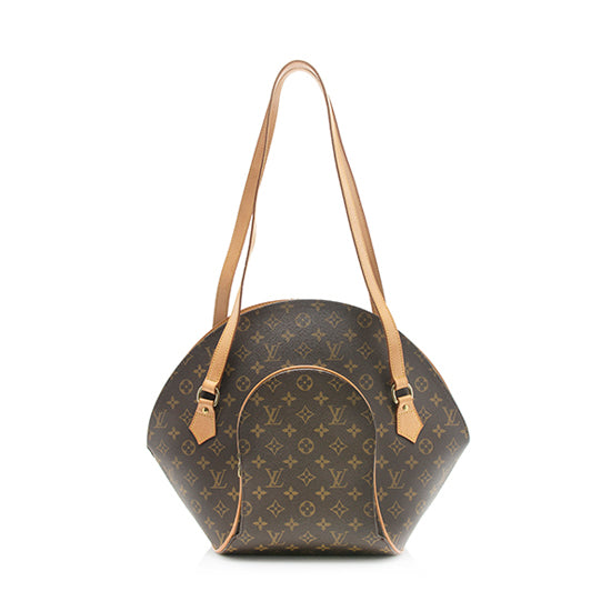 Louis Vuitton Vintage Monogram Canvas Ellipse GM Shoulder Bag