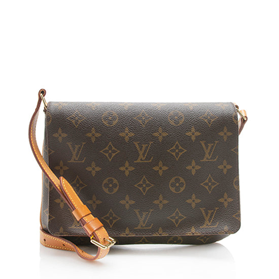 Louis Vuitton Vintage Monogram Canvas Musette Tango Shoulder Bag