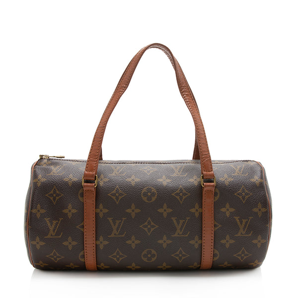 Louis Vuitton Vintage Monogram Canvas Papillon 30 Satchel
