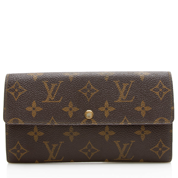 Louis Vuitton Vintage Monogram Canvas Sarah Wallet - FINAL SALE