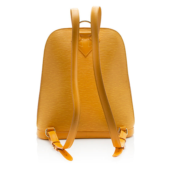 Louis Vuitton Vintage Epi Leather Gobelins Backpack