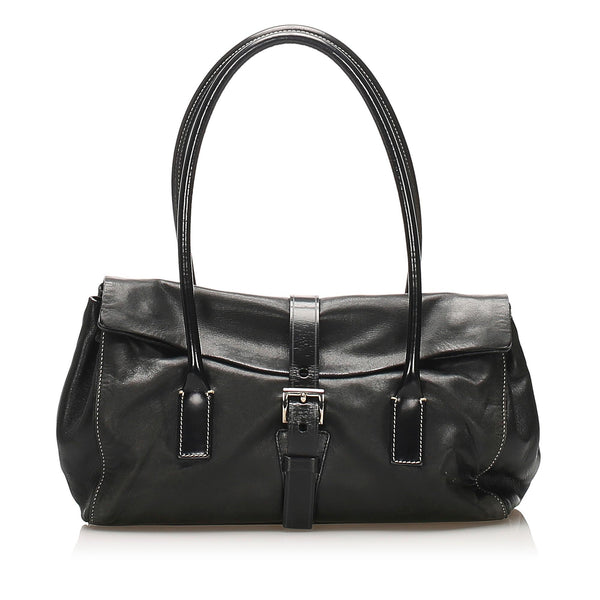 Prada Leather Handbag (SHG-12403)