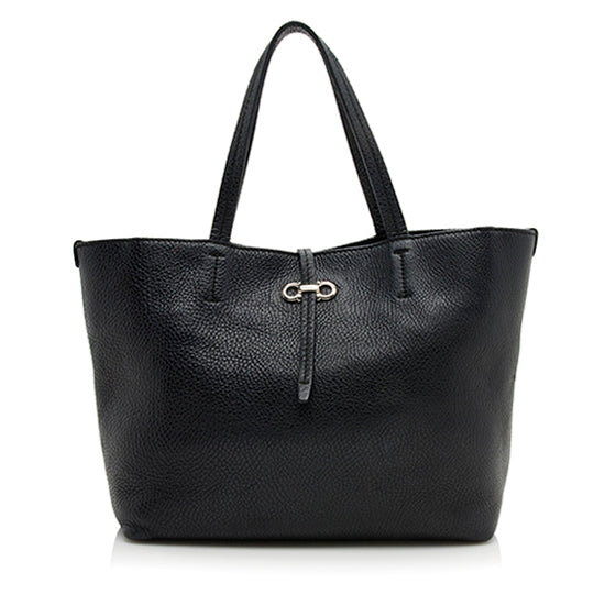 Salvatore Ferragamo Leather Gavina Tote