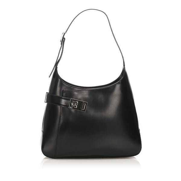 Salvatore Ferragamo Leather Shoulder Bag (SHG-11811)