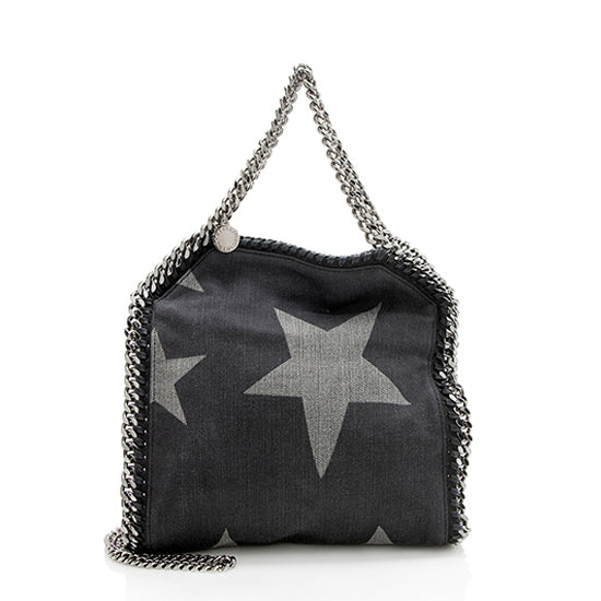 Stella McCartney Denim Star Falabella Mini Tote