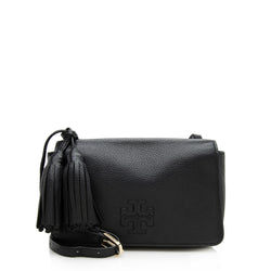 Tory Burch Leather Thea Mini Shoulder Bag (SHF-12335)