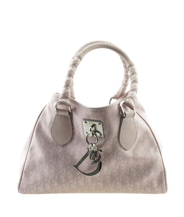 Dior Medium Trotter Monogram Pink Canvas Tote