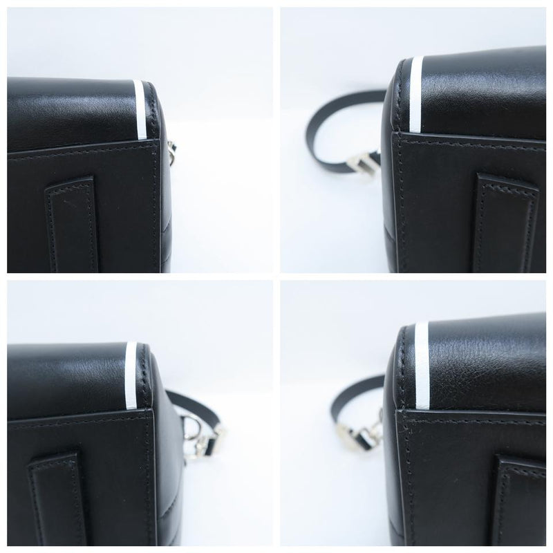 Givenchy Antigona Small Black Calfskin Leather Satchel