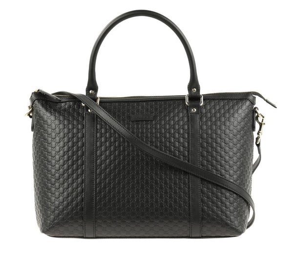 Gucci Microguccissima Top Handle Convertible Satchel