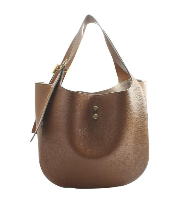 Jimmy Choo Mardy Tan Leather Tote