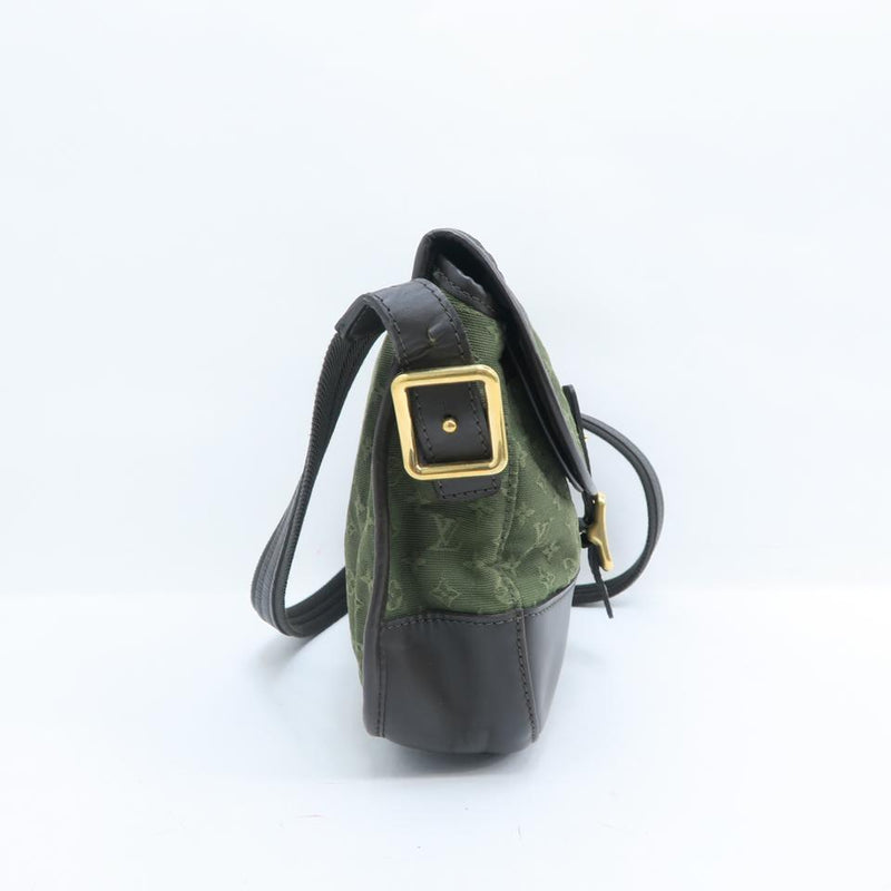 Louis Vuitton Marjorie Mini Lin Olive Green Monogram Canvas Shoulder Bag
