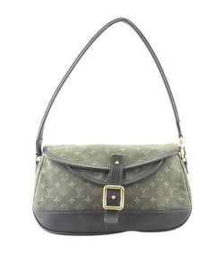 Louis Vuitton Marjorie Pochette Mini Lin Mini Lin Green Canvas Weekend/Travel Bag