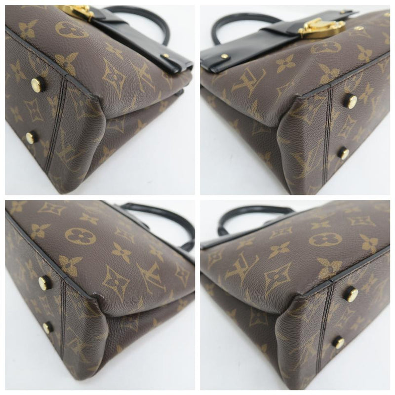 Louis Vuitton One Handle Brown Monogram Canvas Satchel