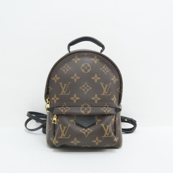 Louis Vuitton Palm Springs Mini Monogram Brown Canvas Backpack