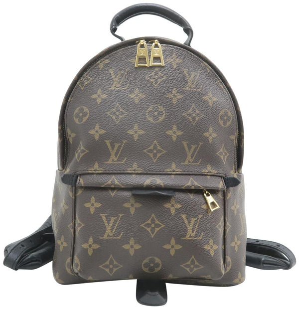 Louis Vuitton Palm Springs Pm Monogram Brown Canvas Backpack