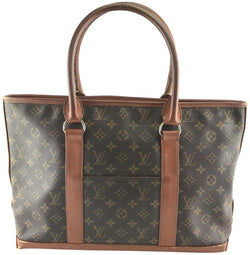 Louis Vuitton Sac Tote Duffle Monogram Coated Canvas Weekend/Travel Bag