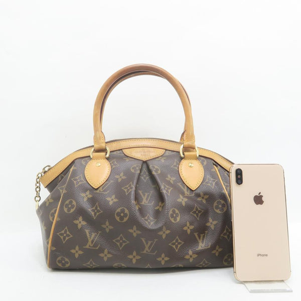 Louis Vuitton Tivoli Pm Brown Monogram Canvas Tote
