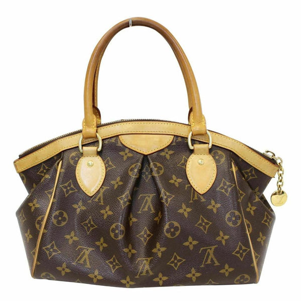 Louis Vuitton Tivoli Pm Handbag Brown Monogram Canvas Shoulder Bag