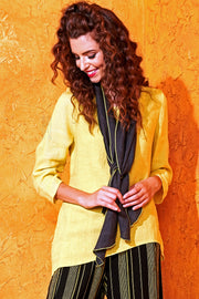 Diamond Scarf - Slate-Canary