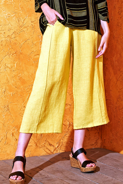 Capri Pants Canary