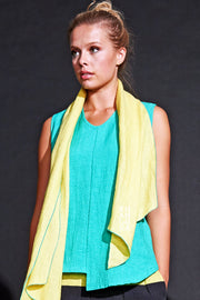 Diamond Scarf - Canary-Jade