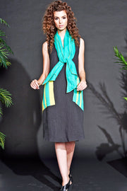 Lucky Jade Patch pocket Dress