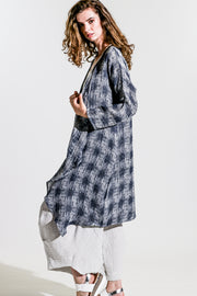 Mosaic Walking Duster Coat