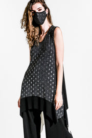 Star-Studded Diamond Swing Tunic