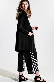 Artful Duster Coat - Black