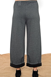Lantern Pants - houndstooth