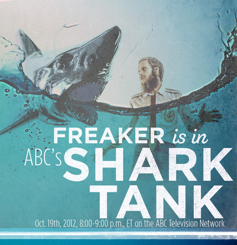 Freaker USA's Zach Crain is in ABC's Shark Tank