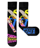 Snack to the Future Socks
