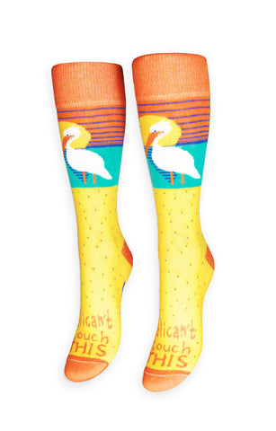 Pelican't Touch This Socks