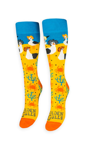 Golden Gulls Socks