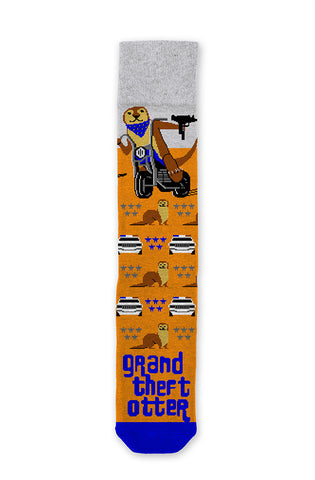 Grand Theft Otter Socks