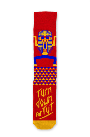 Turn Down For Tut Socks
