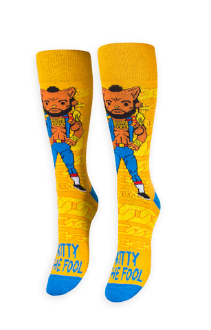 I Kitty the Fool Socks
