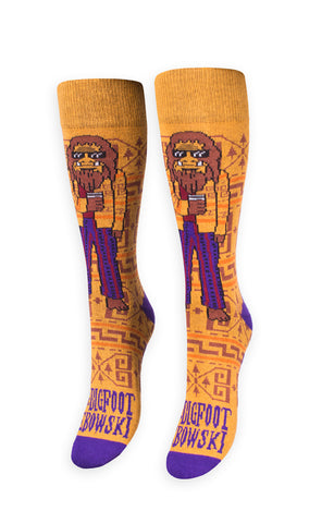 The Bigfoot Lebowski Socks