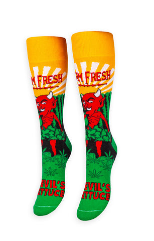 Devil's Lettuce Socks