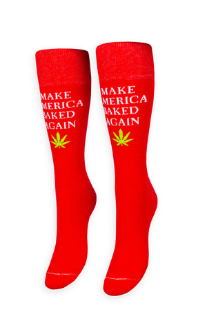 Make America Baked Again Socks
