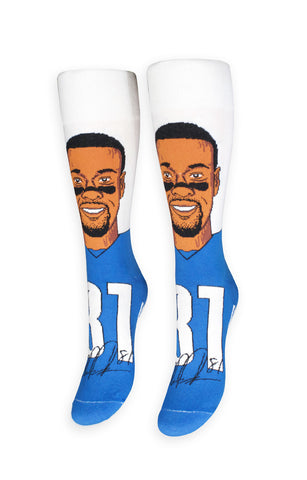 Calvin Johnson Socks