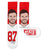 Travic Kelce Socks