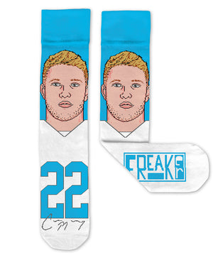Christian McCaffrey Socks