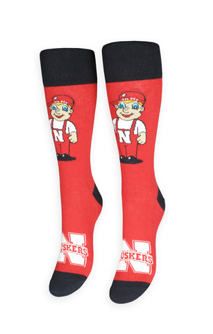 Nebraska University Socks