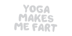 Yoga Makes Me Fart Socks