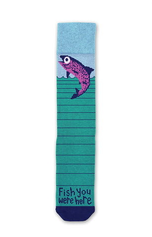 Fish You Were Here Socks