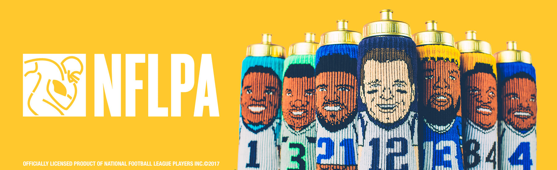 Shop our NFLPA collection