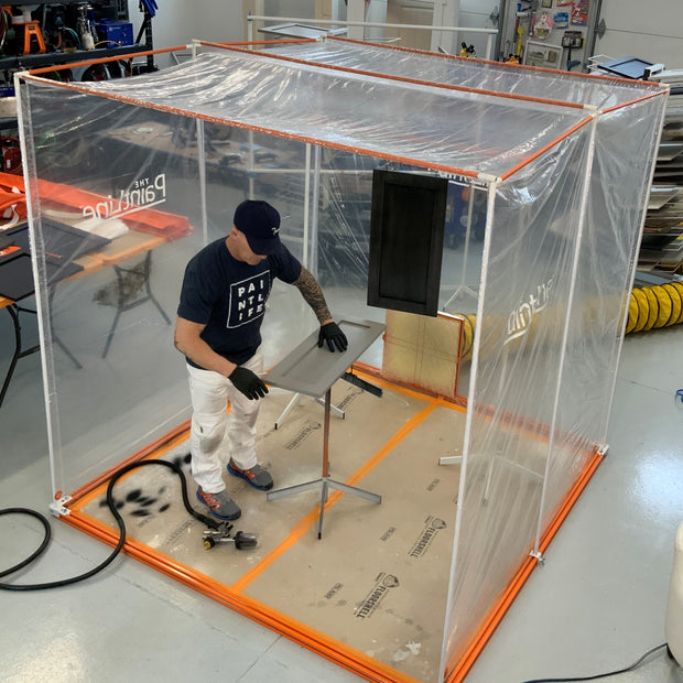 Portable Jobsite Spray Booth™ (PJSB)